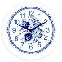 Часы настенные кварцевые ENERGY модель EC-102 гжель