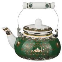 Чайник эмалированный 2,5 л 934-329 Зеленый