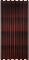 Черепица Ондулин коричневая
