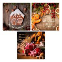 "Доска раз.ст.18*18см ""Christmas"" 3д. NEW, 2.68 (МультиДом)"