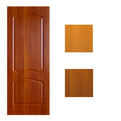Дверь ПВХ. ТИП Азалия глух 60 ит.орех