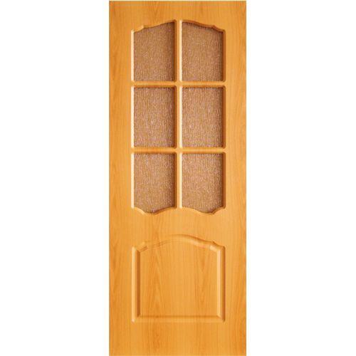 Дверь ПВХ. ТИП Азалия ост.Ниагара бронза 70 мил.орех