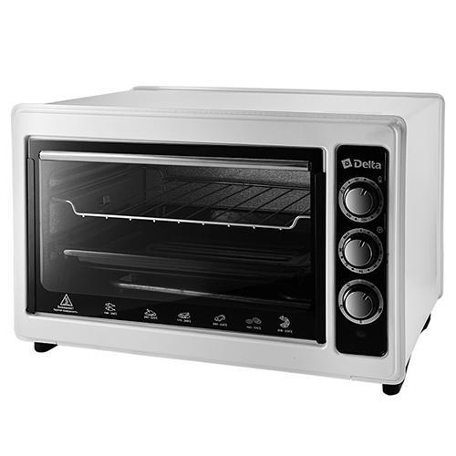 Эл. духовка DELTA с термостатом D-0123 белая с тэном повышенной мощности, 1300Вт., 37 литров