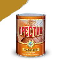 """Эмаль ПФ-266 (Желто коричневая 0,9 кг) (14шт.в кор.)""""ПРЕСТИЖ"""""""