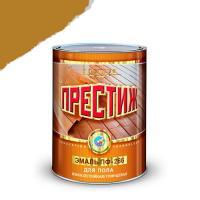 """Эмаль ПФ-266 (золотисто-коричневая 0,9 кг) (14шт.в кор.) """"ПРЕСТИЖ"""""""