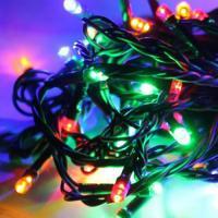 Гирлянда КОСМОС 50LED_RGB (RGB, 6,5м, 8 режимов мигания)