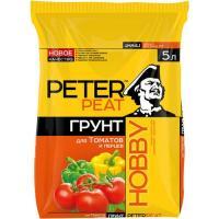 """Грунт """"Для томатов и перцев"""", ХОББИ 10л"""
