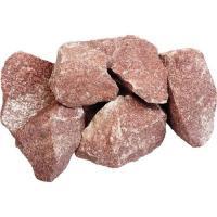 """Камень """"Кварцит"""" малиновый, колотый, в коробке по 20 кг """"Банные штучки""""/1 3715"""