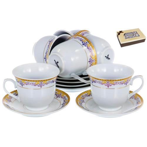 "Набор чайный (12) 113-19002 ""OLAFF"""