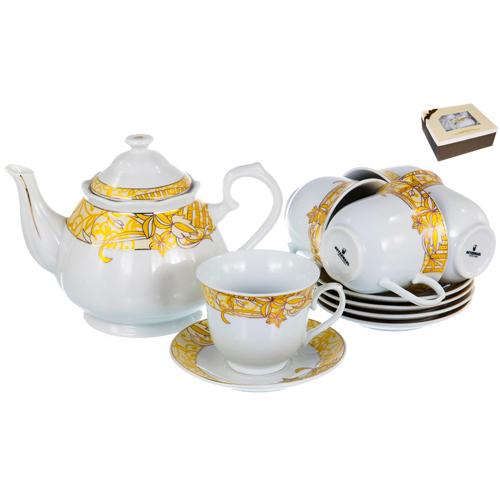 "Набор чайный (13) 113-19023 ""OLAFF"""