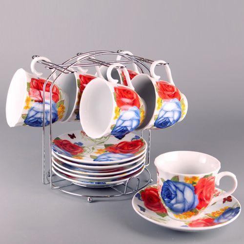 """Набор чайный 220 (12) (8) DL-F6MS-197 """"OLAFF"""""""