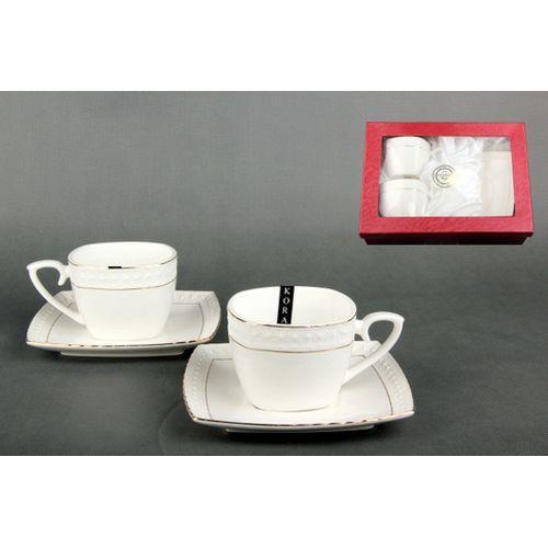Набор чайный 2/4 240мл ф.квадрат п/у CS507009-A снежная королева/з