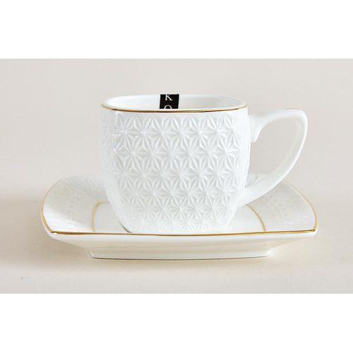 Набор чайный  2/8 200мл ф.квадрат п/у СPT0012-A снежная королева