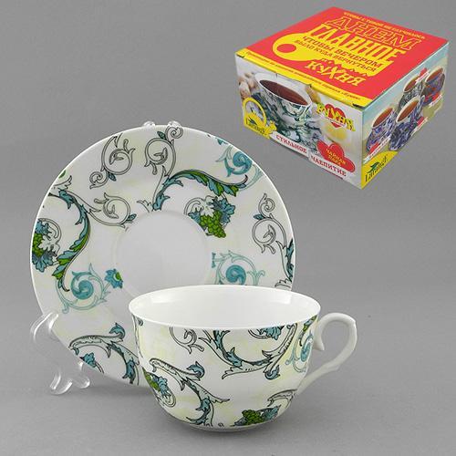 Набор чайный 2 пр. РОКОКО 225 мл цв.уп. (КОР-36НАБ)  586-371