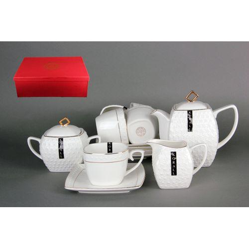 Набор чайный 6/15 ф.квадрат 900мл 240мл 500мл CPT0115-A снежная королева/з