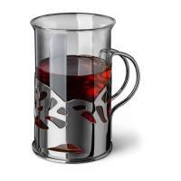 """Набор стаканов в подстаканнике APOLLO genio """"Cite Silver"""" 250 мл 2 шт"""