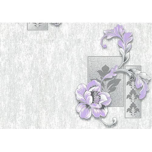 Обои ДХН-337/3 Леди декор светло-серо-фиолетовый (10*1,06) (9) Д