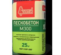 Пескобетон М300 25 кг Старатели
