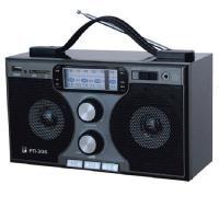 """Радиоприемник """"БЗРП РП-306"""", УКВ 64-108МГц, бат. 4*R20 (не в копмпл.), 220V, USB, SD, стереозвук"""