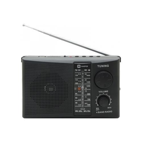 Радиоприемник HARPER HDRS-288 black
