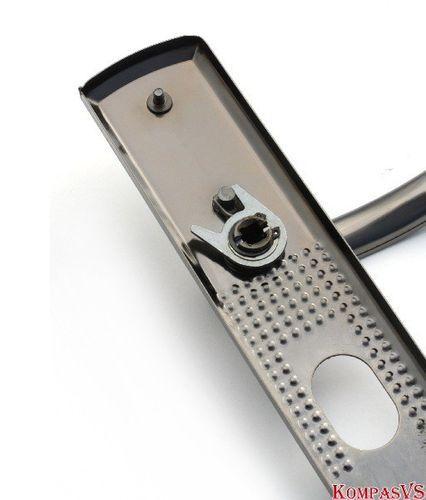 Ручка сплошная с подсветкой автоматическая AL, левая