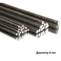 Стержни арматурные стеклопластиковые АСК6п  диаметр 6мм(100п.м) с посыпкой  Х