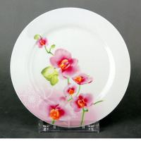 """Тарелка десертная 7"""" 18см OV1203-2 орхидея, круг."""