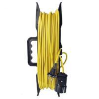 Удлинитель-шнур на рамке ТМ Союз ПВС 2*0,75 1гн. 20м 1300Вт (5102)